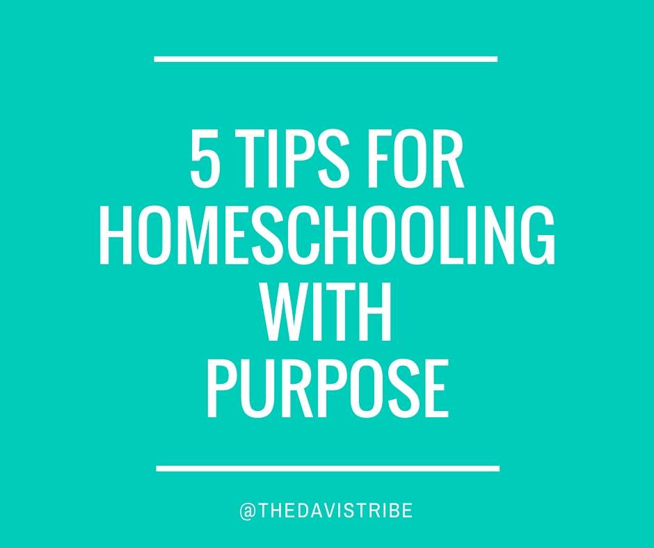 5 Tips on Homeschooling With Purpose-2