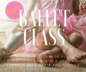 Girl's Ballet class-3